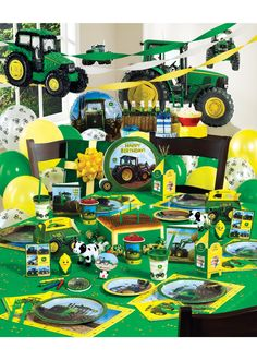 John Deere Ultimate Party Pack for Carter's Second birthday!