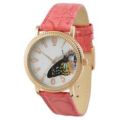 Butterfly Watch Colorful by SandMwatch on Etsy, $19.90