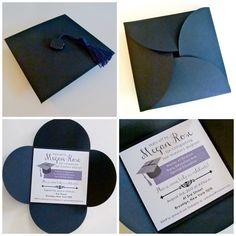 handmade graduations party invitations | graduation invitation ...