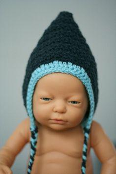 Babyhäubchen *dunkelblau* http://de.dawanda.com/shop/RorysHandmadeStuff