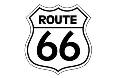 Route 66 Route 66 Usa, Route 66 Sign, Diner Logo, Grease Party, Retro Fashion 50s, American Diner, Book Folding Patterns, Vinyl Labels, Painted Clothes