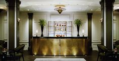Champalimaud Interiors /   Two E Bar/Lounge at the Pierre Hotel New York