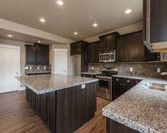 Sarsaparilla Maple Cabinet And New Caledonia Granite Google Search Dad S Kitchen