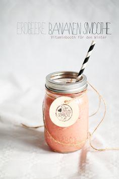 ... strawberry banana smoothie ...