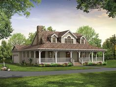 love this house! Affordable Home Plan, 057H-0041