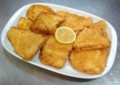 """Portuguese Style Fish Fillets...Light batter lemony and garlicky! """"Filets de Peixe"""""""