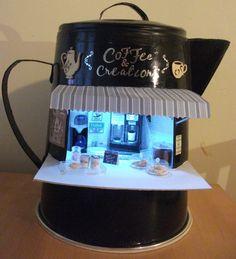 Coffee & Creation mini coffee stand
