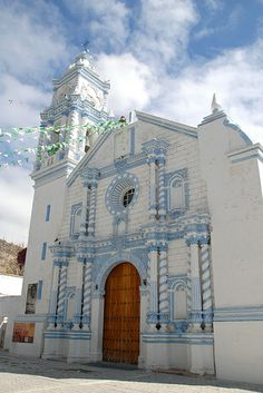 Zapotitlan Salinas Church - Puebla, Mexico