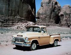 Pictures of Vintage GMC Pickup Trucks: 1957 GMC Pickup Truck