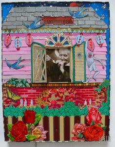 Jenny Fillius recycled tin artwork