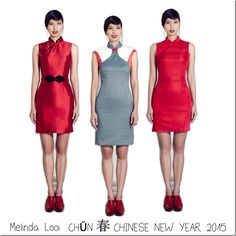 Melinda Looi's Chinese/Lunar New Year 2015 collection is out <3