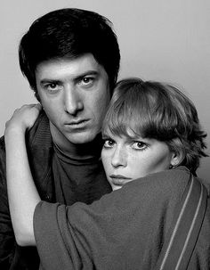 Dustin Hoffman & Mia Farrow, 1964