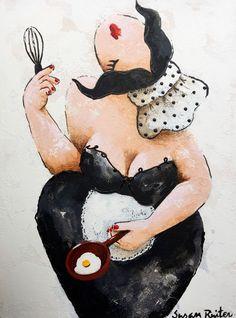 Susan Ruiter is een gevestigde naam binnen de beeldende kunst. Zij heeft in de afgelopen 18 jaar tientallen keren geëxposeerd en haar werk is verkrijgbaar bij verschillende galerieën in binnen- en buitenland. Het werk van Susan Ruiter geeft een ziel aan een ruimte.
