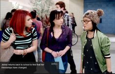 Tamara on Awkward (MTV) - Jillian Rose Reed. Love her new shorter red hair.