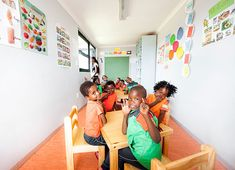 Designed to facilitate learning, Big Box's custom-made school containers are a cost-effective alternative to brick and mortar schools.