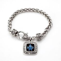 Huntington's Disease Support Bracelet