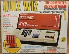 COLECO: 1978 Quiz Wiz Computer Answer Game - I loved the HELL out of this game!!