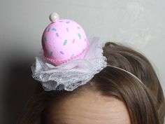 This headband is perfect for your little ones birthday! or their friends. or just any day really :P A pink cupcake with pastel sprinkles nestles in Pink Cupcakes, Baby Headbands, Little Ones, Sprinkles, First Birthdays, Pastel, Friends, Etsy, Accessories