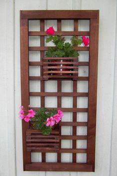 ✔ 54 creative vegetable garden ideas and decorations 16 - Balcony Flower Box, Flower Boxes, Vertikal Garden, Outdoor Plants, Outdoor Decor, Vegetable Garden Tips, Paper Artwork, Woodworking Furniture, Plant Hanger
