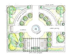 English Garden Design Plans - Pin By G Giggles On Garden Inspiration Formal Gard. English Garden Design Plans - Pin By G Giggles On Garden Inspirati Design Patio, Formal Garden Design, English Garden Design, Garden Design Plans, Landscape Design Plans, Rose Garden Design, Path Design, Diy Garden, Garden Landscaping