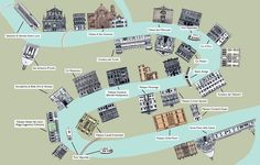 Venice Grand Canal map - Rabbit Guides: An Alternative Look at European Cities