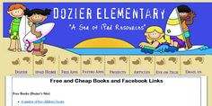 Need help finding free apps for Kindle, Kindle Fire, Nook, iPads? This link may help out. Dozier Elementary's free and cheap book links.