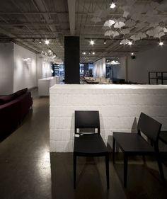 Domison award winning urban shop interior design by BlazysGérard