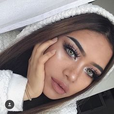 A make up perfect😻😻 Perfect Makeup, Cute Makeup, Glam Makeup, Makeup Inspo, Makeup Art, Makeup Inspiration, Hair Makeup, Beauty Make-up, Beauty Hacks