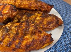 TESTED & PERFECTED RECIPE - This grilled Moroccan chicken is an easy and incredibly flavorful way to prepare boneless skinless chicken breasts. Gourmet Dinner Recipes, Cooking Recipes, Healthy Recipes, Chef Recipes, Easy Recipes, Budget Recipes, Supper Recipes, Greek Recipes, Curry Recipes