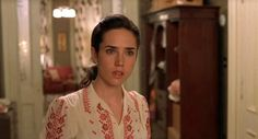 A film still of Jennifer Connelly in A Beautiful Mind (2001). Simply stunning.