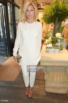 Marie Chantal, Crown Princess of Greece, attends the book launch party for 'India Hicks: Island Style' at Ralph Lauren Fulham Road on April 28, 2015 in London, England.