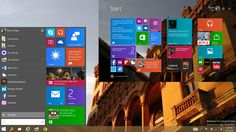 Windows 10 - New Start Screen combo looks the best of both worlds. At last something contextualised.