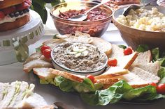 Mackerel pate, from a Jamie Oliver recipe, created for the Royal wedding buffet.