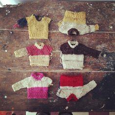 knitting by Rosa Pomar, via Flickr