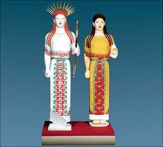 the original colors of ancient Greek and Roman sculptures 2