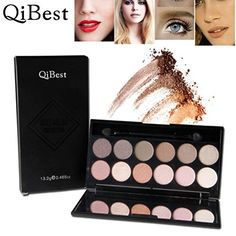 OVERMAL 2016 Qibest Cosmetic Makeup Blusher 12 Colors Concealer Eye shadow >>> Visit the image link more details.