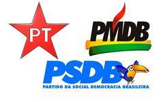 A verdade que a mídia não mostra: PT x PSDB x PMDB x todos os demais