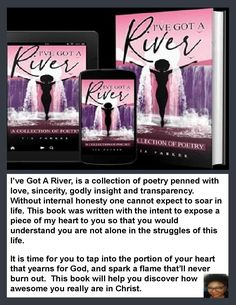 📚 I've Got A River: A Collection of Poetry by Tia Parker ←→ Support and Connect with Author Tia Parker ✍ Look inside the book and enjoy the author's unique writing style then leave a review.