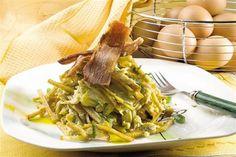 Revuelto gramajo de batata