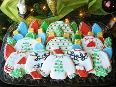 Christmas Sweater Cookie Platter