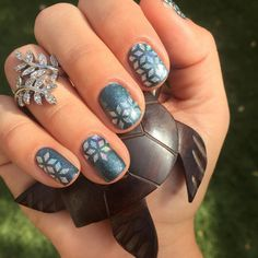 Gorgeous winter mani
