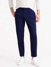 J. Crew Pleated Trouser In Italian Cotton
