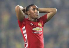 Martial annoyed to be left on the bench by Mourinho