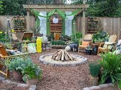 no grass backyard ideas - Google Search