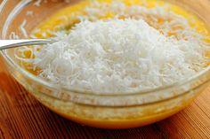 Recipe from Tasty Kitchen for French Coconut Pie Almond Coconut Cake, French Coconut Pie, Coconut Desserts, Coconut Custard, Coconut Recipes, Fudge Recipes, Baking Recipes, Delicious Desserts, Cake Recipes