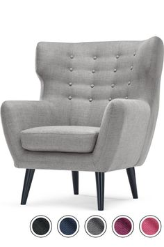 Kubrick Wing Back Chair, Pearl Grey Red Rooms, Bedroom Chair, Master Bedroom, Pearl Grey, Reading Nook, Living Room Chairs, Lounge Chairs, Love Seat, Armchair