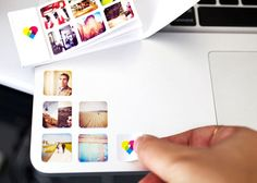 Printstagram - stickers that you can order from pictures from instagram. 252 stickers for $10!
