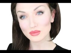 Soft Make-up For Extremely Pale Skin | John Maclean - YouTube
