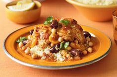 Chicken & chickpea tagine recipe