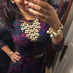 Dressy and Romantic! Stella & Dot Style with beautiful jewerly and accessories! Ootd & Fashion